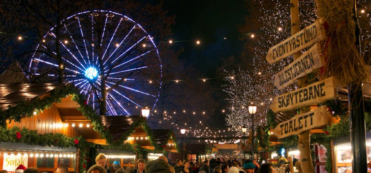 Christmas Markets In Oslo, Norway