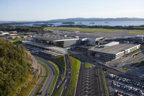 New Airport Terminal Opens In Bergen, Norway